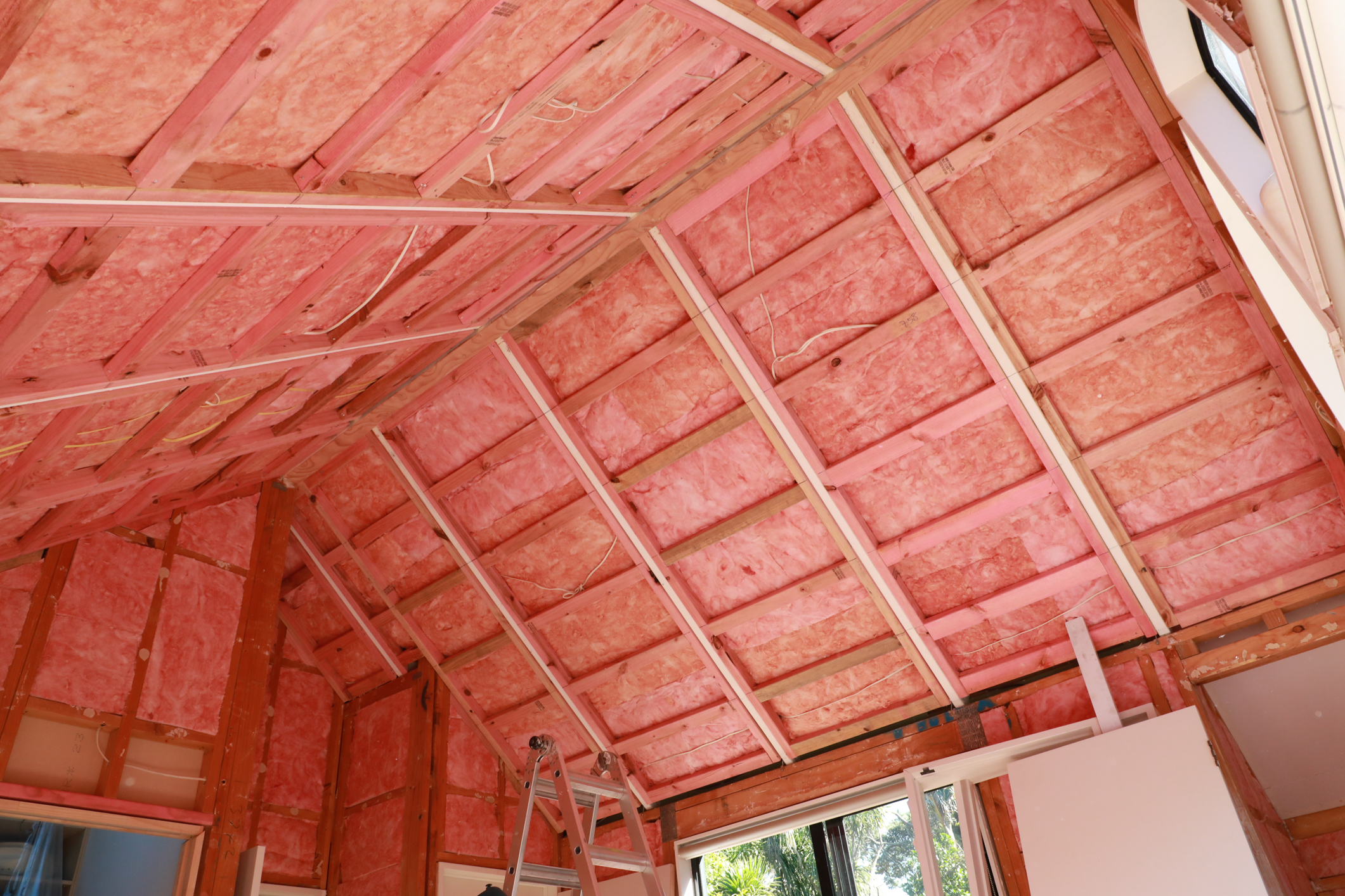 Pink Batts Ultra Used To Retrofit Skillion Roof Eboss