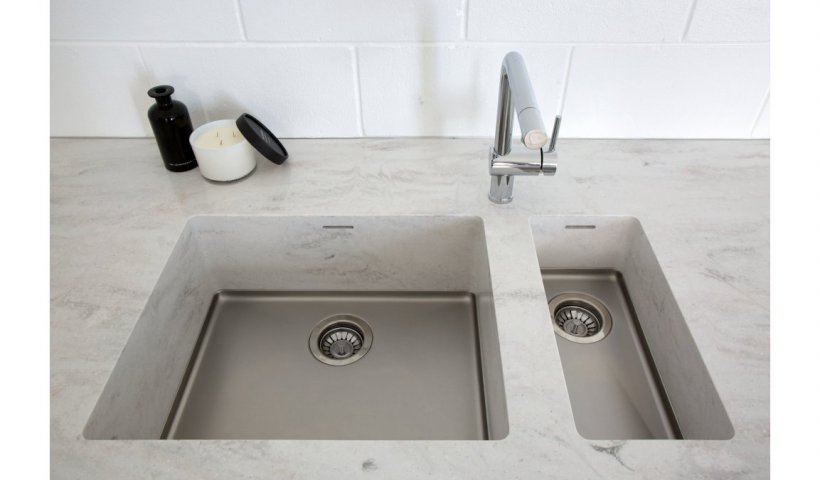 Seamlessly Integrate Kitchen Sinks with Corian Solid Surface