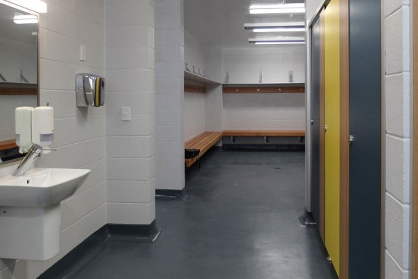MacDonald Industries Bathroom Products Specified for New Dilworth Sports Centre