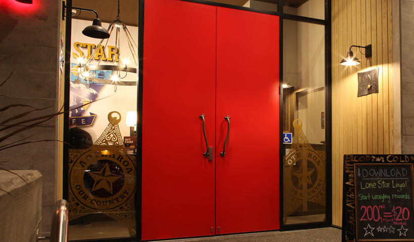Plasma Entrance Doors Get a Range Extension