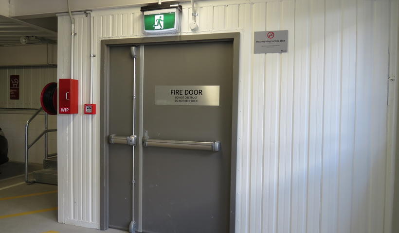 Split Steel Framed Fire Rated Doorsets