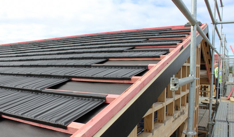 Metrotile's Modular Roofing System Helps Deliver Affordable Housing