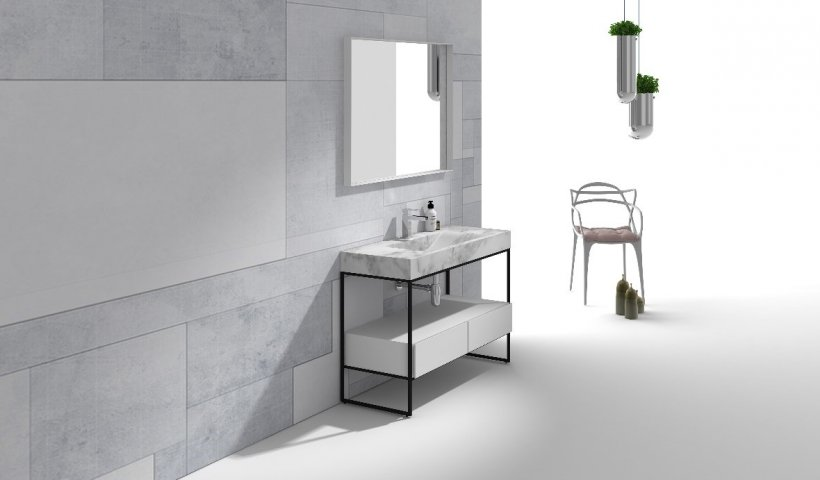 Introducing Pure Frame Floor Cabinets by Parisi