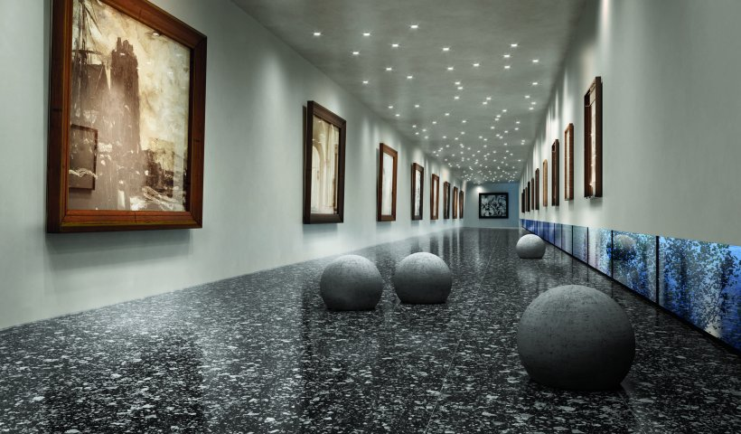 Sophisticated Terrazzo-Look Porcelain Tiles