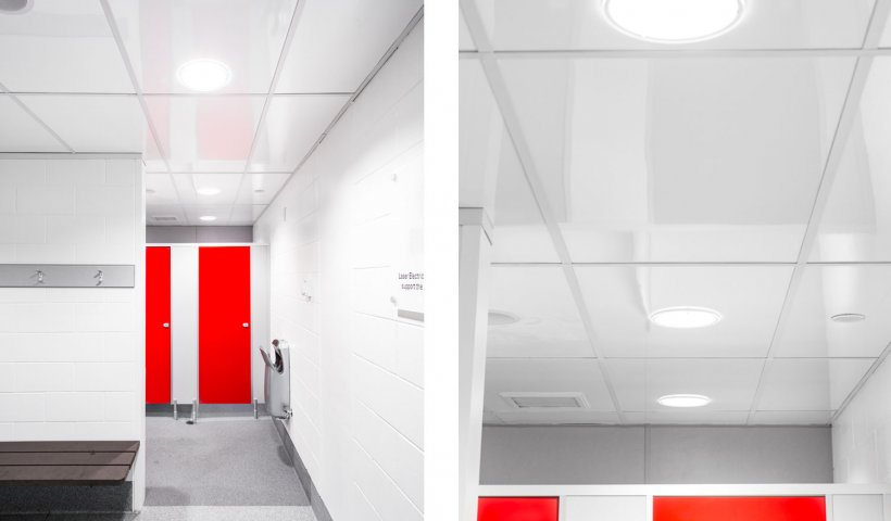 The Ceiling Solution for Steamy Changing Rooms