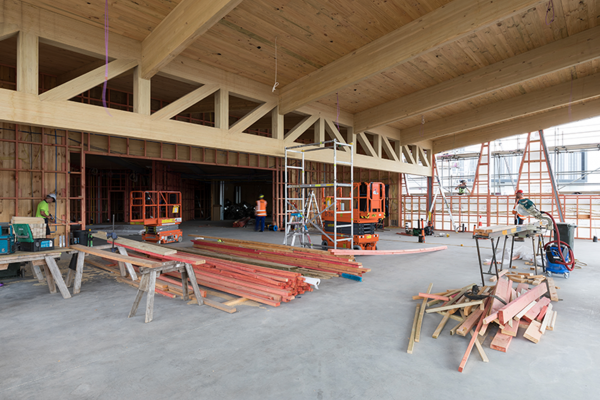 Time and Cost Saving Benefits of Prefabricated Techlam Glulam