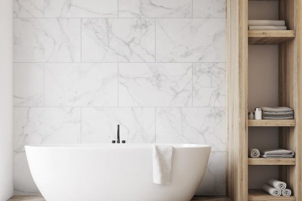 New Waterproof Tiles and Panels Simplify Bathroom Upgrades