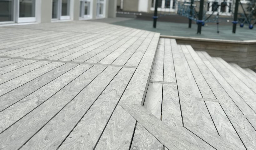 Composite Decking Perfectly Formed for Education