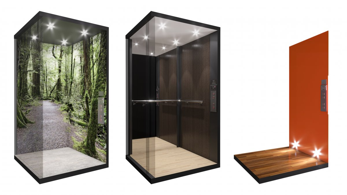 CGI renders of elevators created by clients based on the new Powerglide Packages.