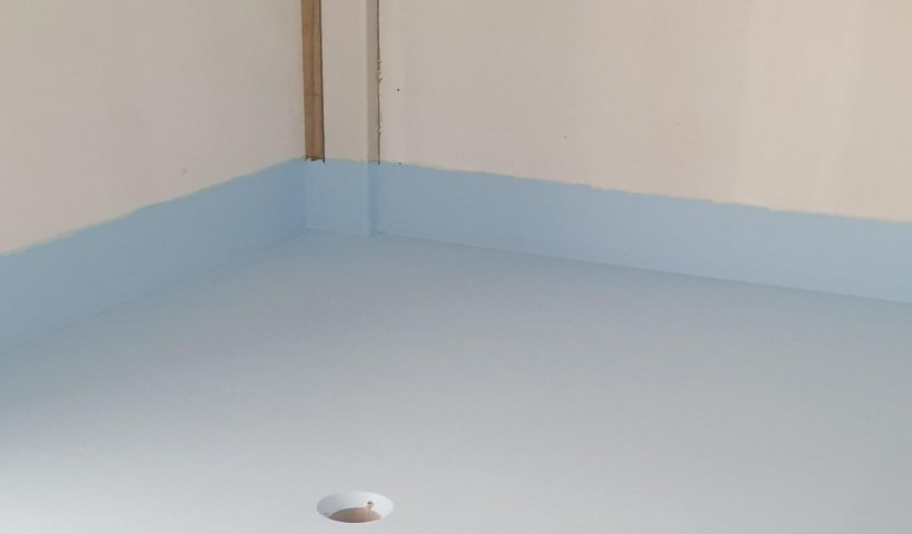 Waterproof Seamless Flooring Systems for LVT and Sheet Vinyl Wet Rooms