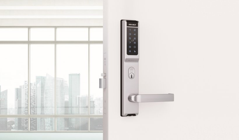 Aperio AU100 V3 Wireless Escutcheon