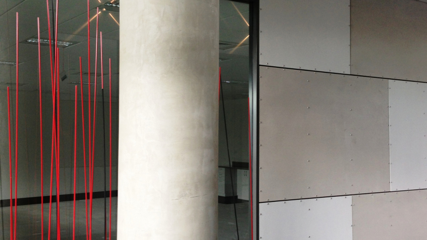 Pacific Build Supply Prefinished Internal Linings Feature In New Asb Building By Pacific Build